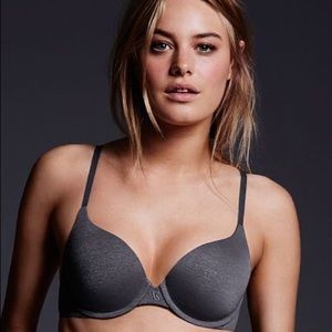 Victoria's Secret Push Up Uplift Semi Demi Bra 32E